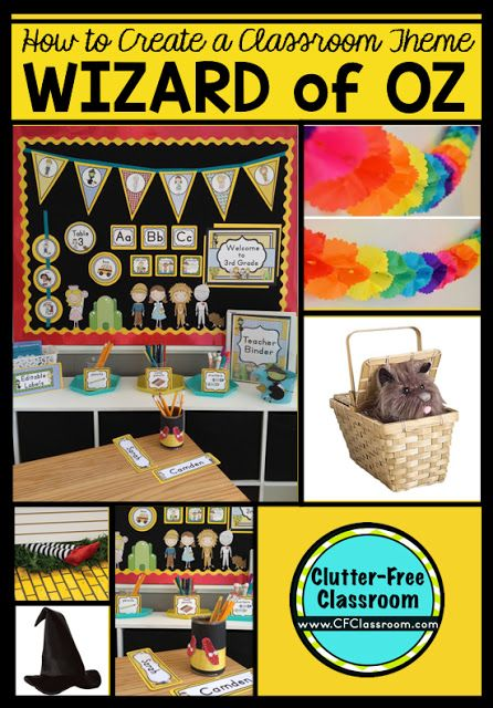 Classroom Unit Ideas : Best wizard of oz classroom theme ideas and decor