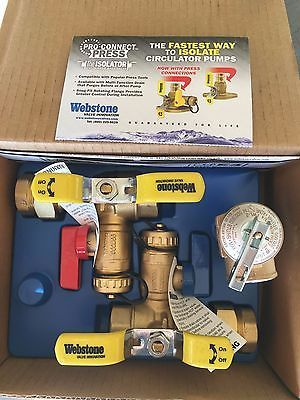 Tankless Water Heaters 115967: Isolation Valve Kit Rinnai Ru98 Condensing Tankless Water Heater - Webstone -> BUY IT NOW ONLY: $56.99 on eBay!