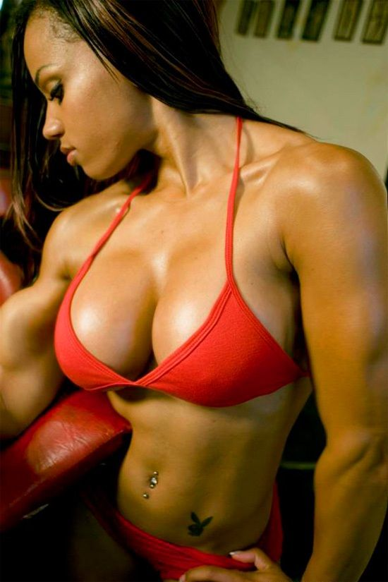 Fit Black Female Arms  Ebony Fitness Model With Amazing -9307