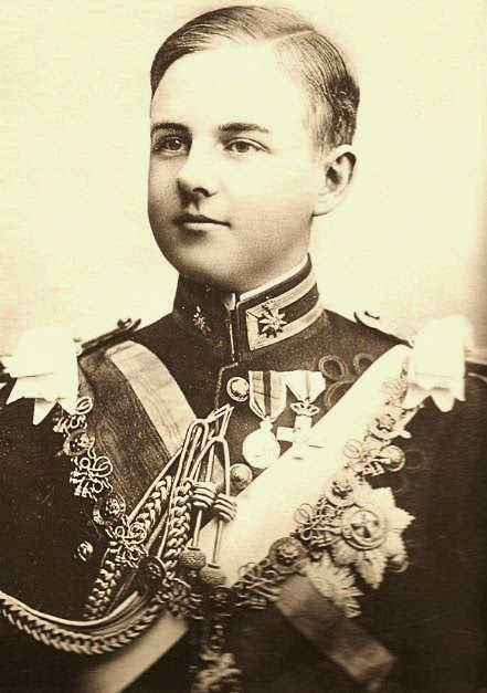 (QUEEN AMELIE SON) Prince Luiz of Portugal, Duke of Braganza 1887-1908. Assassinated along with his father Carlos.