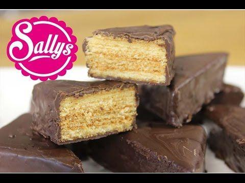 Baumkuchen-Ecken / Konfekt / Baumkuchenspitzen - ein sehr leckeres Rezept - YouTube