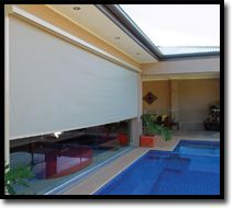 Slide Track Blinds  Outdoor Shade Blinds Perth Australia  Bozzy Shade Blinds