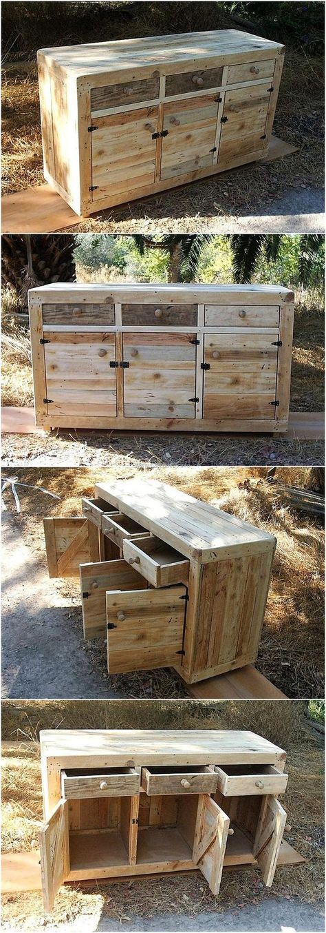 Wooden pallet side table with drawers is here for those having the pallets at home, but going to but the side table from the market. We prefer to assist the individuals in saving the money for which we collect the ideas to reshape the wooden pallets into amazing things.