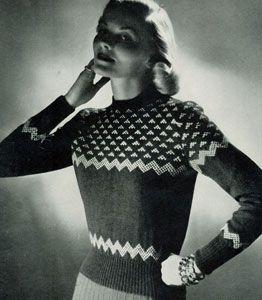 Scandinavian Sweater Pattern No. 5317
