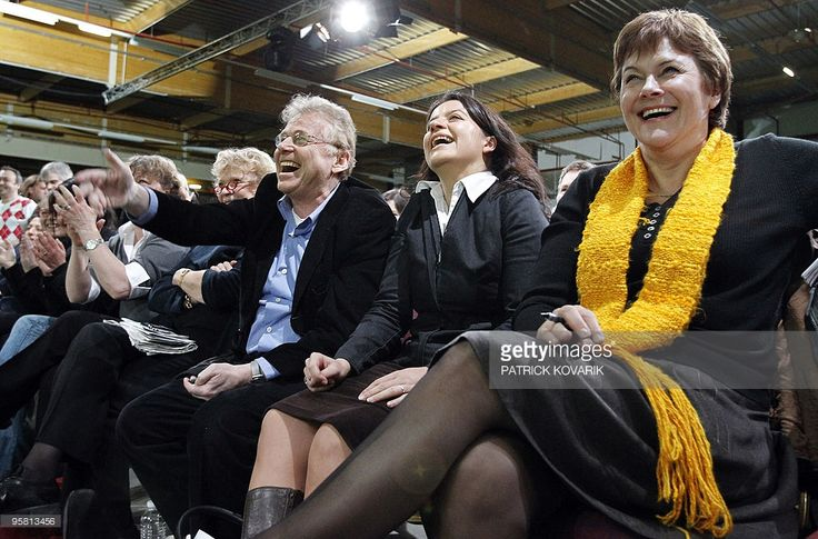 Photo d'actualité : French Green leader Cecile Duflot , Greens leader...