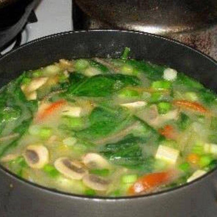 Negative Calorie Diet Soup