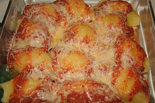 Stuffed Shells with Cheese!!!