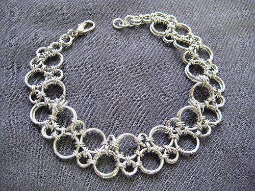 Chainmaille Bracelet Hodo Pattern