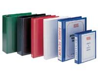 EXP A4 white 25mm four ring presentation binder, Presentation binders with full clear pockets on front and spine.Quality PVC material4 D ring mechanism fitted to back cover http://www.comparestoreprices.co.uk/office-supplies/exp-a4-white-25mm-four-ring-presentation-binder-.asp