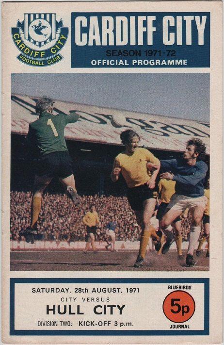 Vintage Football Programme  Cardiff City v by DakotabooVintage, £3.99