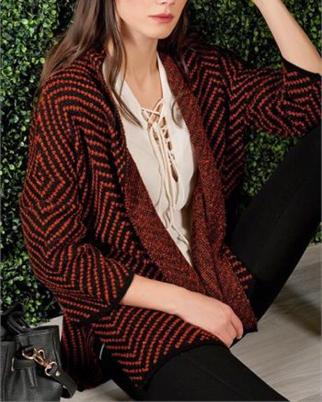 ZİGZAG HIRKA www.fashionturca.com
