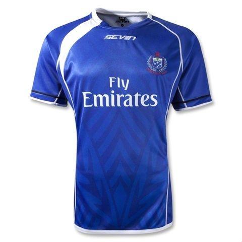 Samoa Sevens Jersey – (Blue) - FREE SHIPPING WORLDWIDE #Rugby #IRB #Samoa