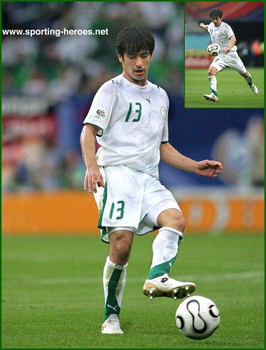 Hussein Sulaimani - Saudi Arabia - FIFA World Cup 2006