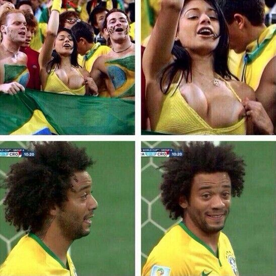 This caused Marcelo's own goal