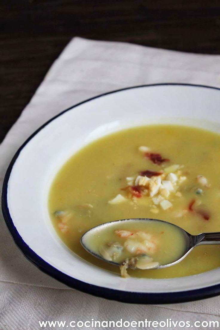 Cocinando entre olivos sopa al cuarto de hora o sopa de for Cocinando entre olivos