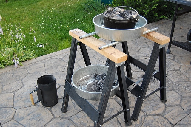 A New Hobby Dutch Oven Cooking And A Table Too