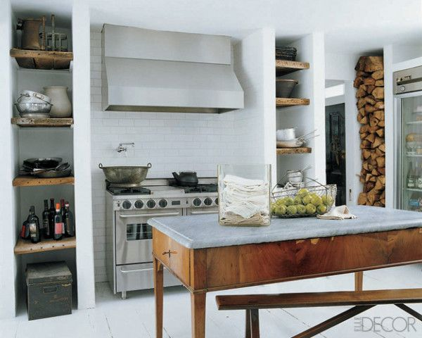 Love the island and firewood detail