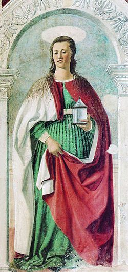 Piero della Francesca - Maria Maddalena (Duomo di Arezzo).jpg