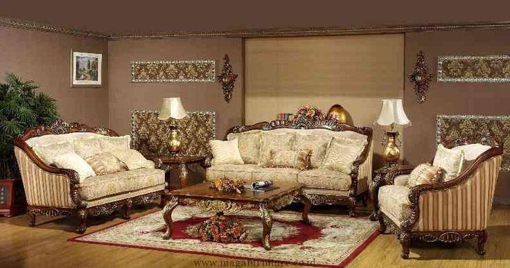 Sofa Tamu Mewah Kerang Jepara merupakan salah satu dari sekian produk Set sofa Tamu Mewah kami, yang bisa kami rekomendasikan untuk anda, dengan desain dan