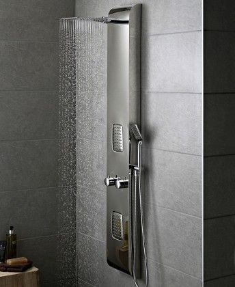 Octavia Chrome Plated Thermostatic Shower Panel