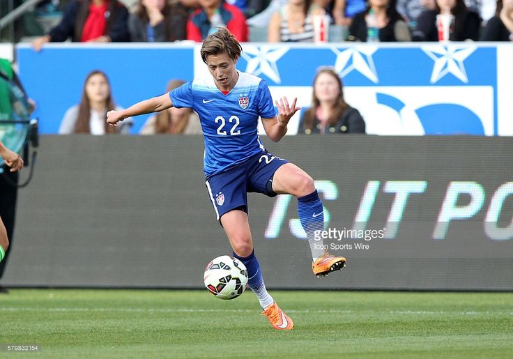 USA 's Meghan Klingenberg (22) during the game against Mexico at StubHub Center in Carson, CA.