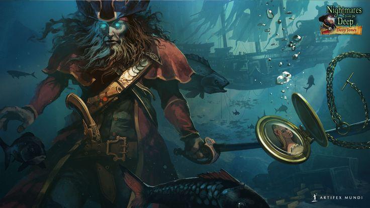 Nightmares from the Deep®: Davy Jones 1920x1080 #wallpaper