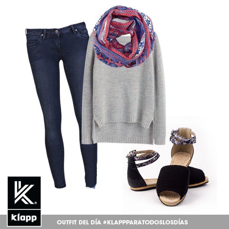 Para un día casual usa un look sencillo y cómodo con #Klapp #Klappparatodos #Klappargatas #AmomisKlapp #Mystyle