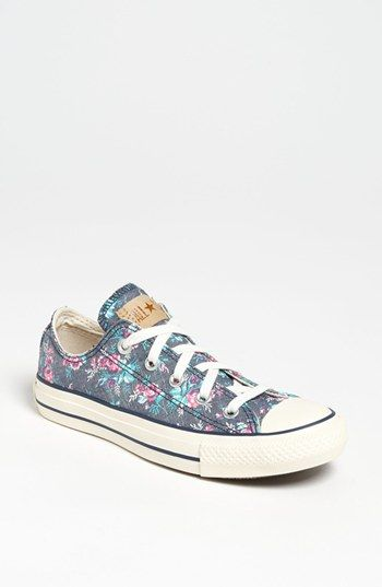 Converse Chuck Taylor® All Star® Floral Sneaker (Women) available at #Nordstrom - $54.95