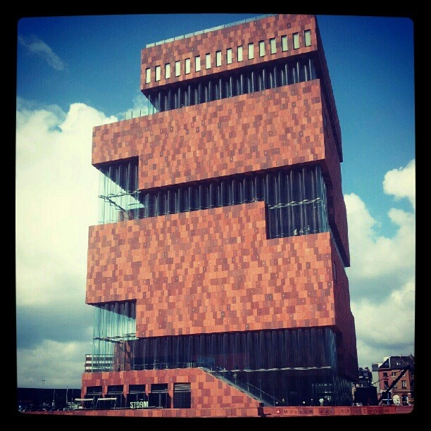 Art house MAS in Antwerp