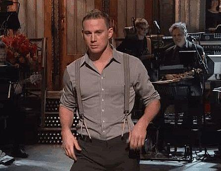 Channing Tatum Dancing GIFs   POPSUGAR Celebrity