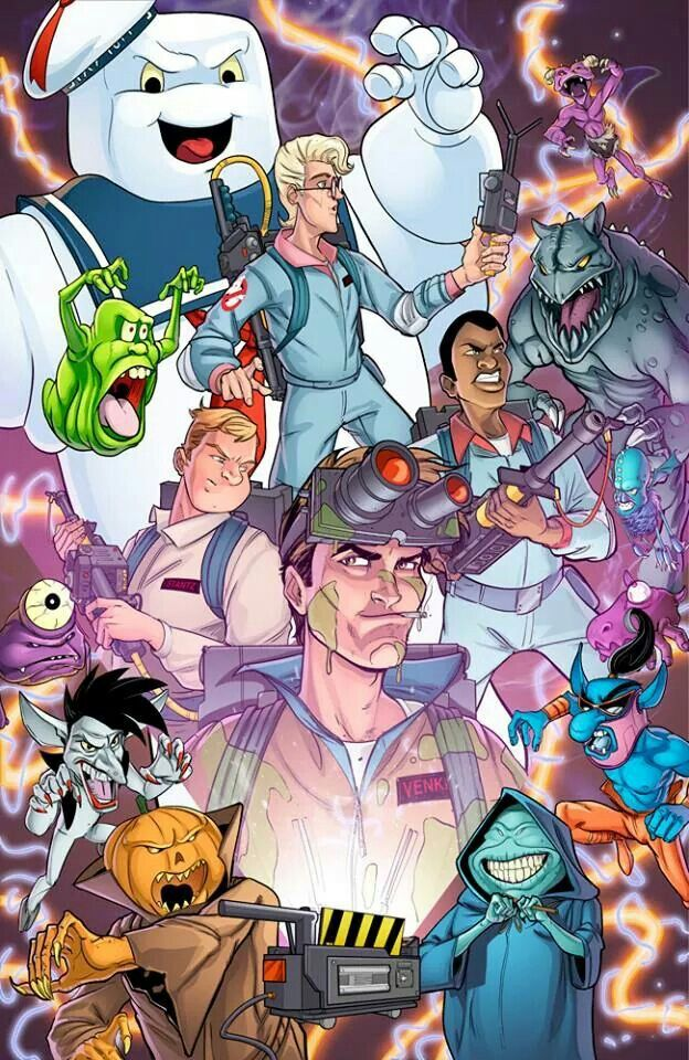 The Real Ghostbusters fan art