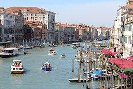 Venedig, Italien, Boote, Kanal
