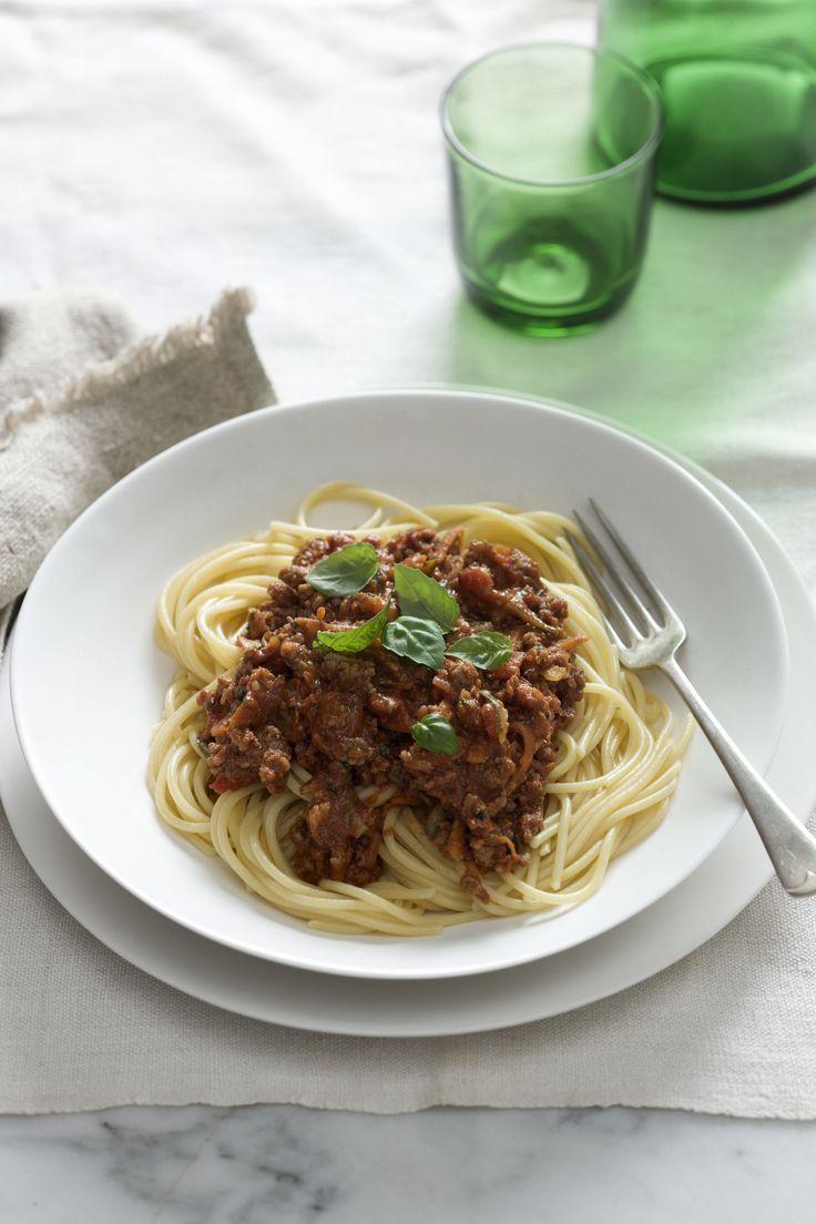 Beautiful Bolognese with Mutti Inventa Sugo. www.muttiparma.com.au/recipes