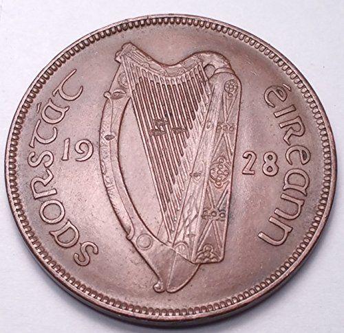 IRELAND 1928 PENNY SCU9A......WORLDWIDE COIN  http://www.amazon.com/dp/B01FACI0GI/ref=cm_sw_r_pi_dp_05lrxb0NR46JZ