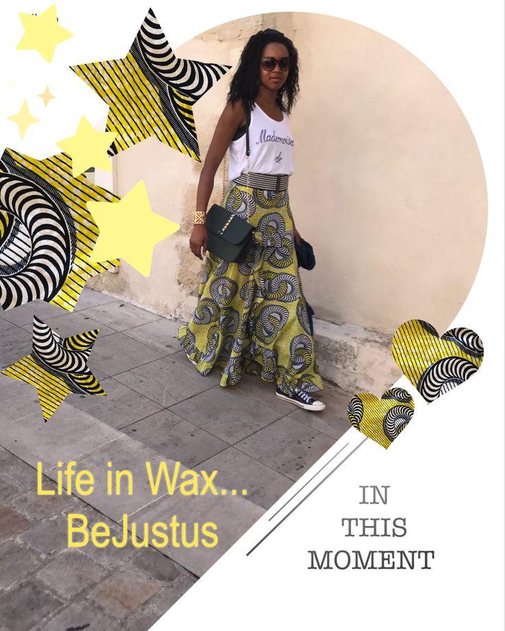 """""""Life in wax"""" retrouvez le dernier article sur le blog et partagez avec moi votre passion de l'africanstyle!"""