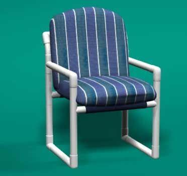 Pvc Club Chair Outdoor Garden Pinterest Best Pvc