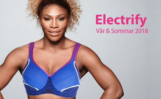 """Populära """"Electrify"""" sport-bh från Berlei i ny färg våren 2018."""