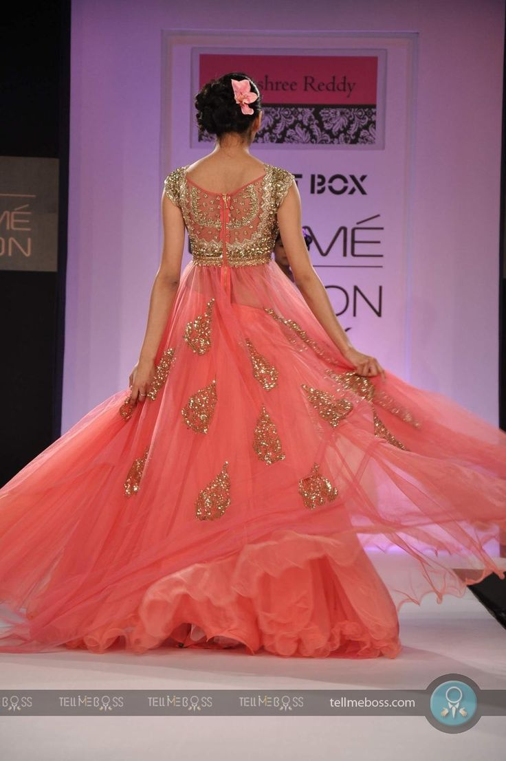 Anushree Reddy show at Lakme Fa