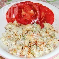 Photo de recette : Salade de macaroni au poulet Ranch