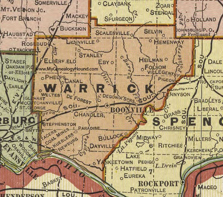 85 best images about Warrick County Indiana on Pinterest ...