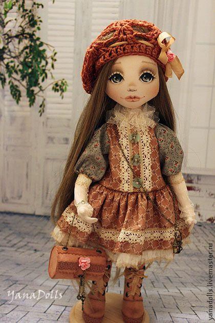 Joanna - бежевый,кукла,кукла ручной работы,кукла в подарок,кукла текстильная