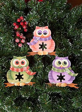 201 best painted owls images on Pinterest  Painted owls Fabric