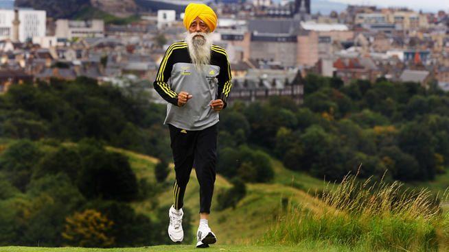 Quest'uomo è vegetariano, ha 101 anni e corre 15 km al giorno!
