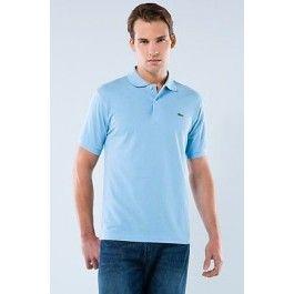 Men Polo Shirt Lacoste, Sky Blue Color