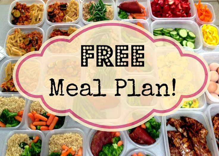 239 best diet weekly plans images on Pinterest Healthy nutrition