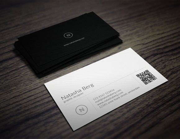 Minimal Business Card Vol. 01 By Jorge Lima On @creativemarket