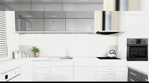 Cette semaine, Thomas Lecointe et Sophie Ferjani transforment la cuisine Téva Déco en une cuisine ultra contemporaine. Couleurs claires et monochro...