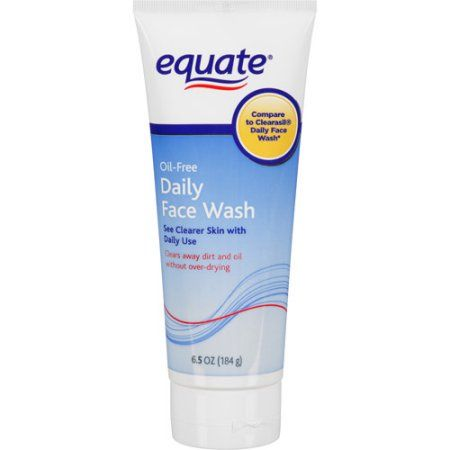 Equate Oil Free Daily Face Wash 6 5 Oz Daily Face Wash Face
