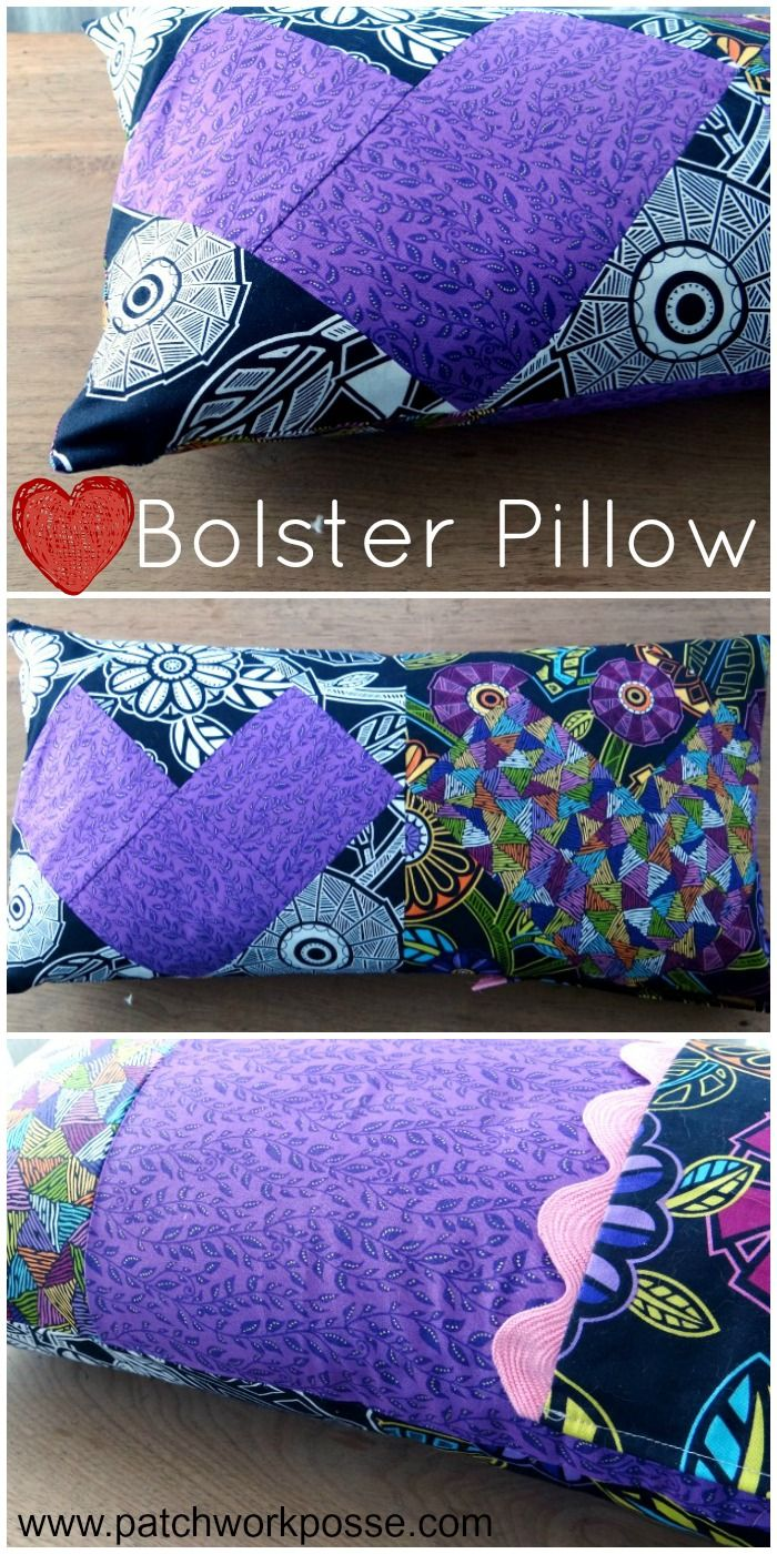 17 best images about valentines sewing ideas on pinterest Sew bolster pillow cover