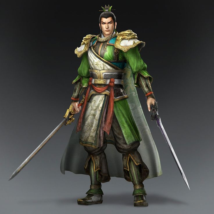 Liu Bei & Weapon (Shu Forces)